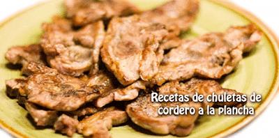 Recetas de carne de cordero,
