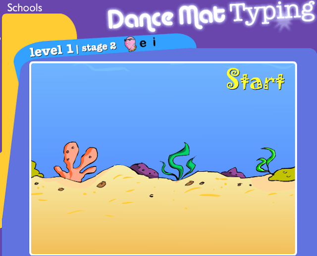 Read more on bbc dance mat typing level 1 stage 1 kidztype
