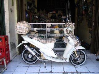 Modif Yamaha Mio Hitam