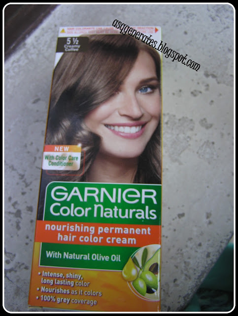 Garnier Color Natural - 5 1/2 Creamy Coffee box picture
