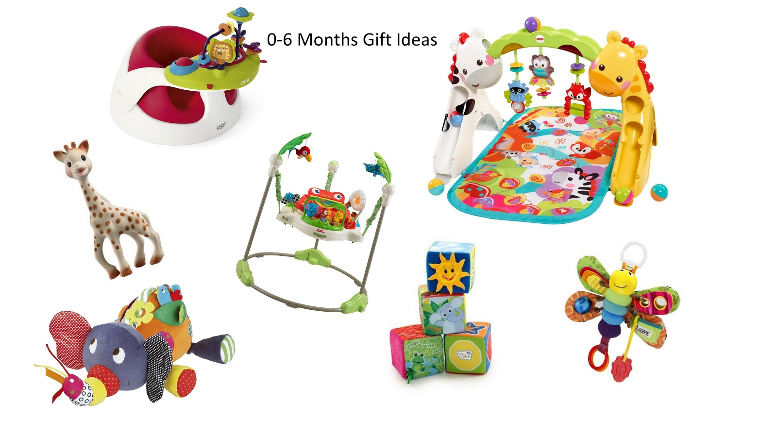 Christmas gift ideas for 4 month old baby