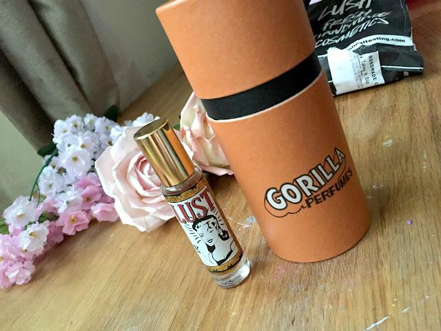 Lush Lust Gorilla Perfume Review