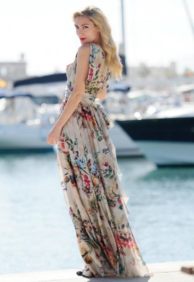 Increíble colección de vestidos Maxi | Verano 2016