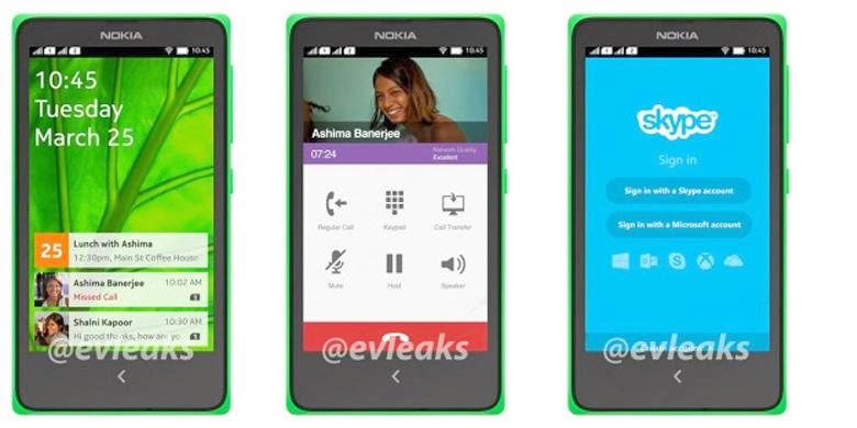 Spesifikasi Nokia Normandy