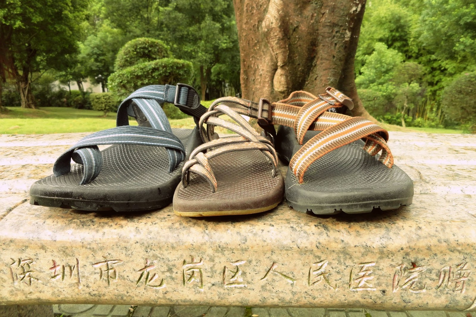 Chacos in China