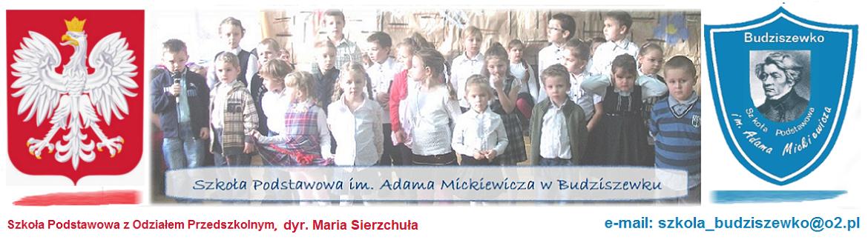 Szkoła im. A. Mickiewicza w Budziszewku