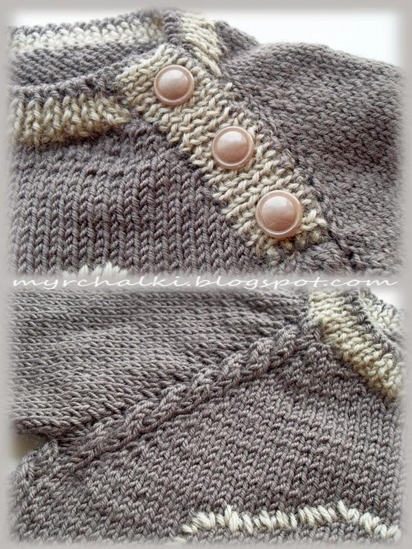 свитер для малыша связать