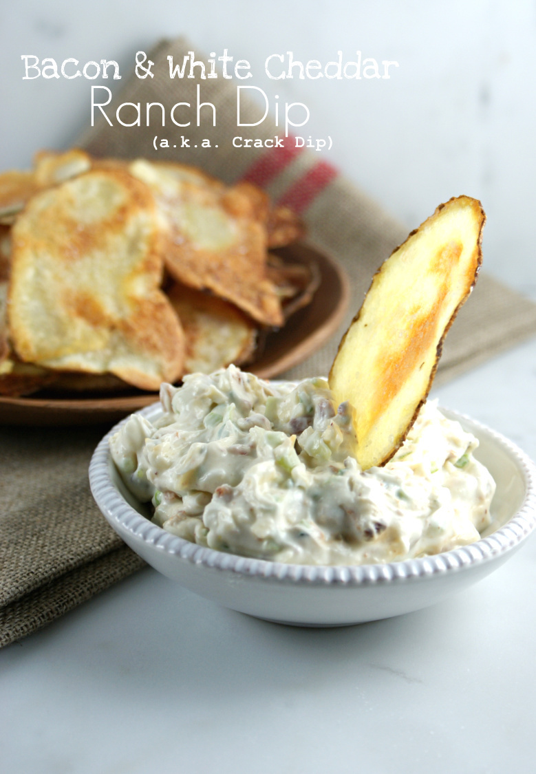 bacon ranch crack dip