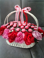 Coklat in Flower Basket A