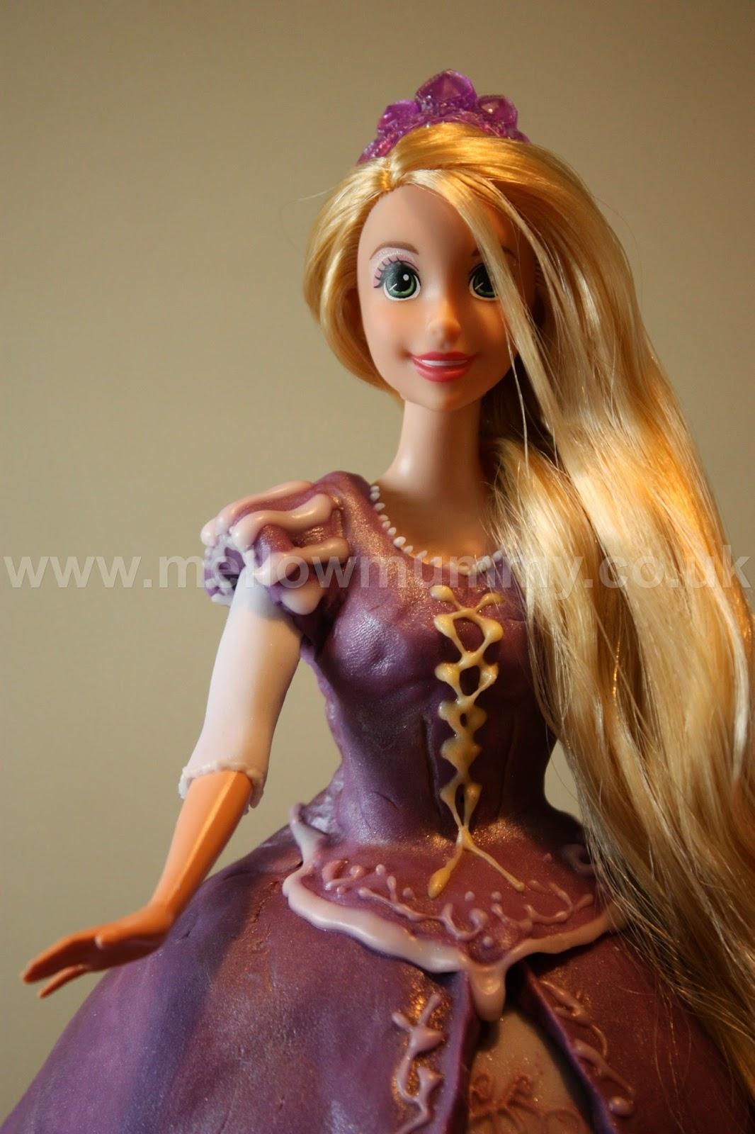 Disney Tangled Rapunzel Doll Cake