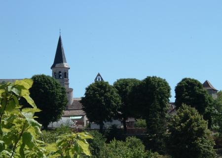 clochers de Villeneuve d'Aveyron