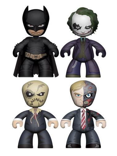 "The Dark Knight 2"" Mini Mez-Itz Box Set - Batman, The Joker, Scarecrow & Two-Face"