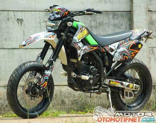 Modifikasi Kawasaki D-Tracker 250