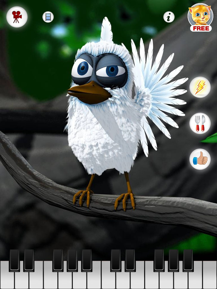 Talking Larry The Bird Free App Game By Out Fit 7 Ltd
