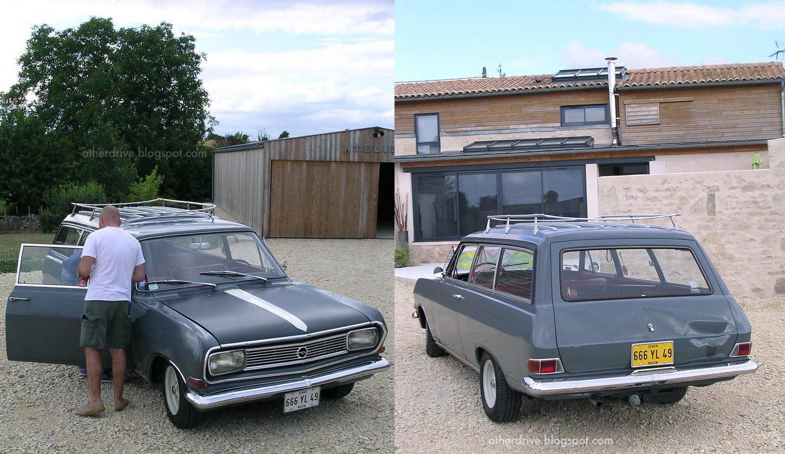Otherdrive opel rekord 1966 for Garage opel melle
