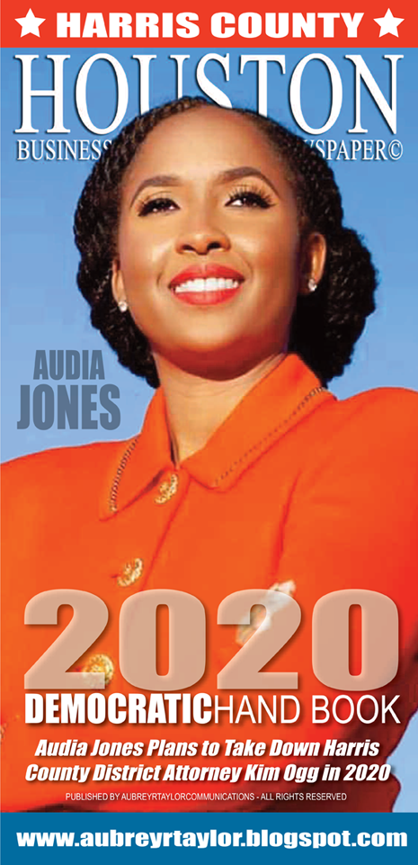 Audia Jones is running for Harris County District Attorney on Tuesday, March 3, 2020