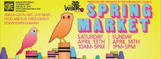 Durham Art Walk Spring Market