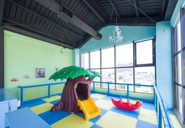 迪利樂廚 3F嬰幼兒遊戲空間一隅