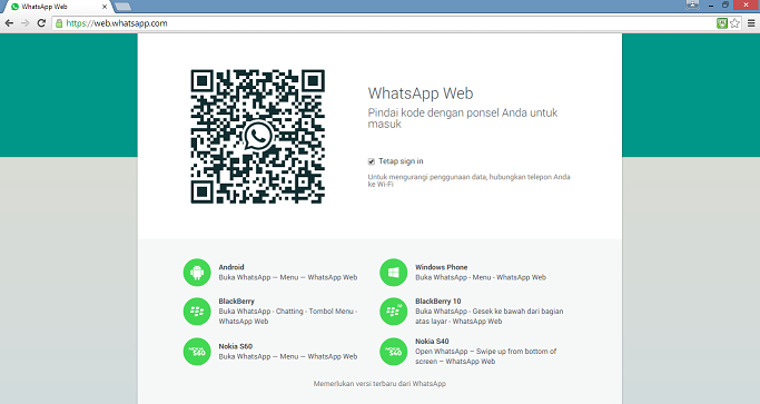 Cara Menggunakan Whatsapp Versi Desktop