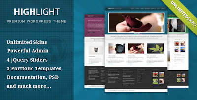 Highlight Wordpress Theme Free Download by ThemeForest.