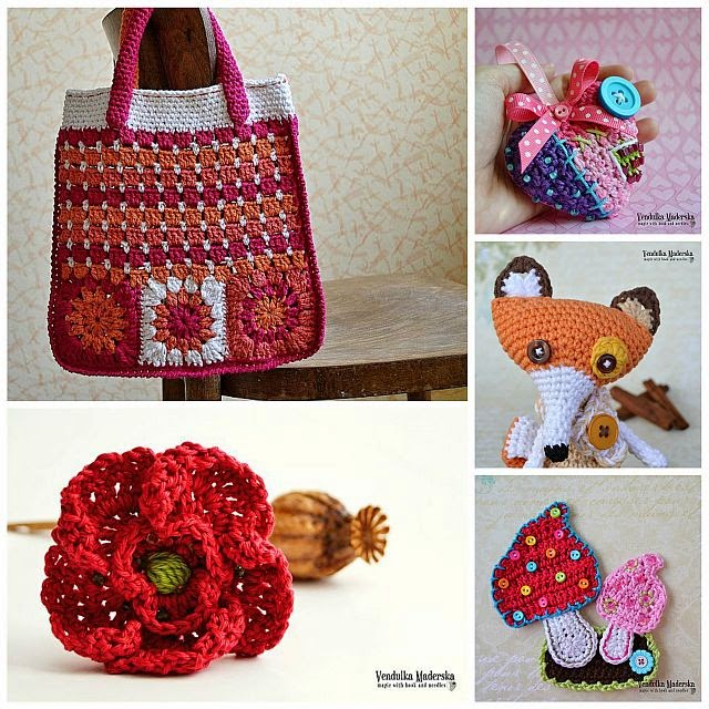 Crochet patterns by Vendula Maderska