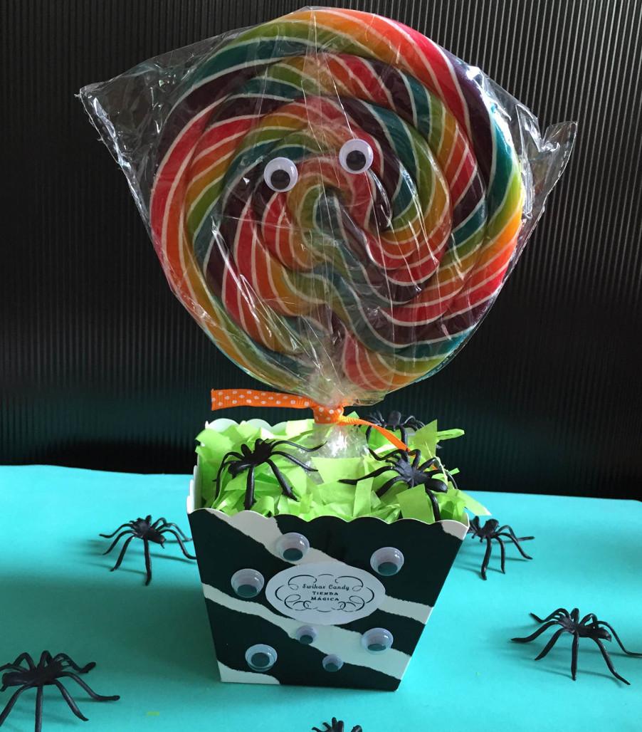 Centro de mesa de halloween swikar candy for Centros de mesa para halloween