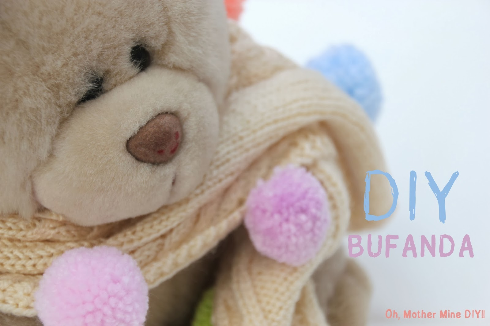 DIY Como hacer una bufanda para niños de 2 o 3 años - Handbox Craft ...