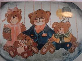 cartel infantil en acrílico