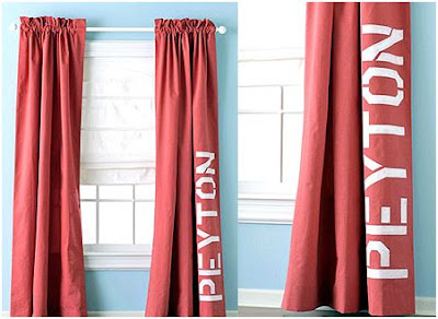 Decorar Cortinas con Pintura