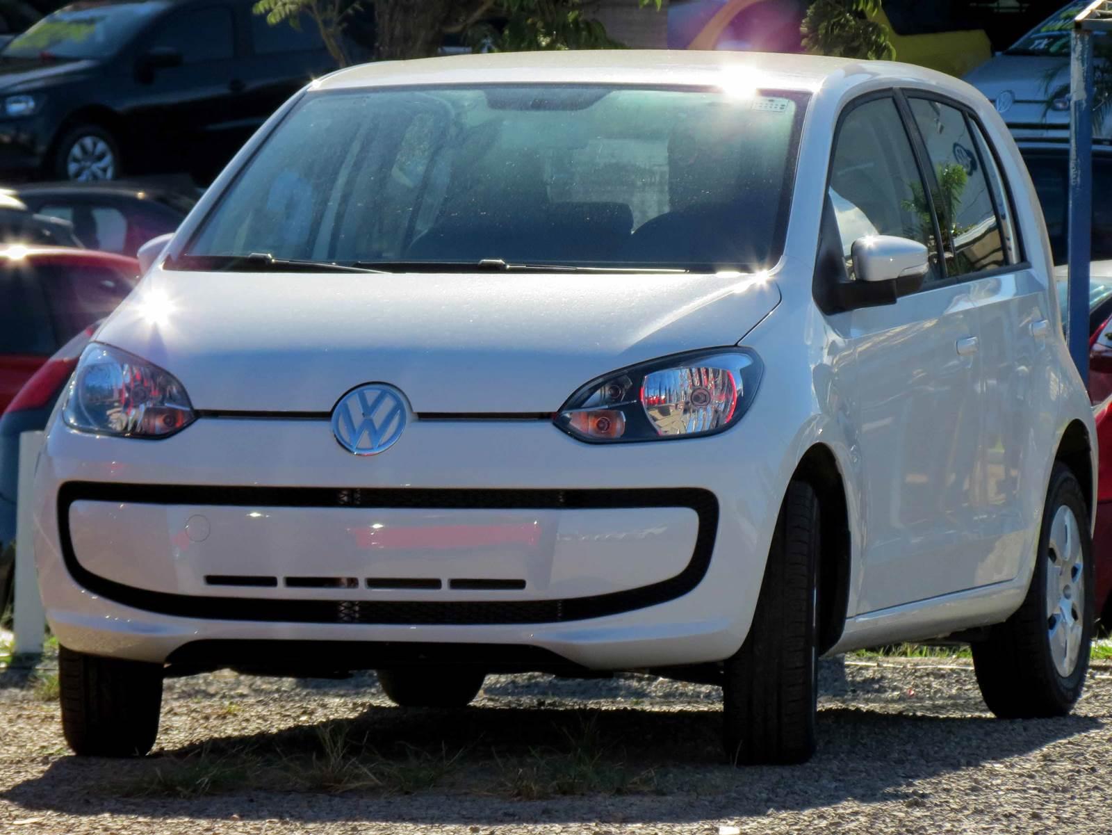 Volkswagen up! - carro mais vendido em Brasília
