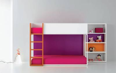 Literas infantiles for Recamaras infantiles minimalistas