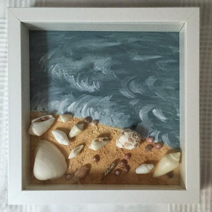Con tiempo y poco mas: Cuadros con conchas