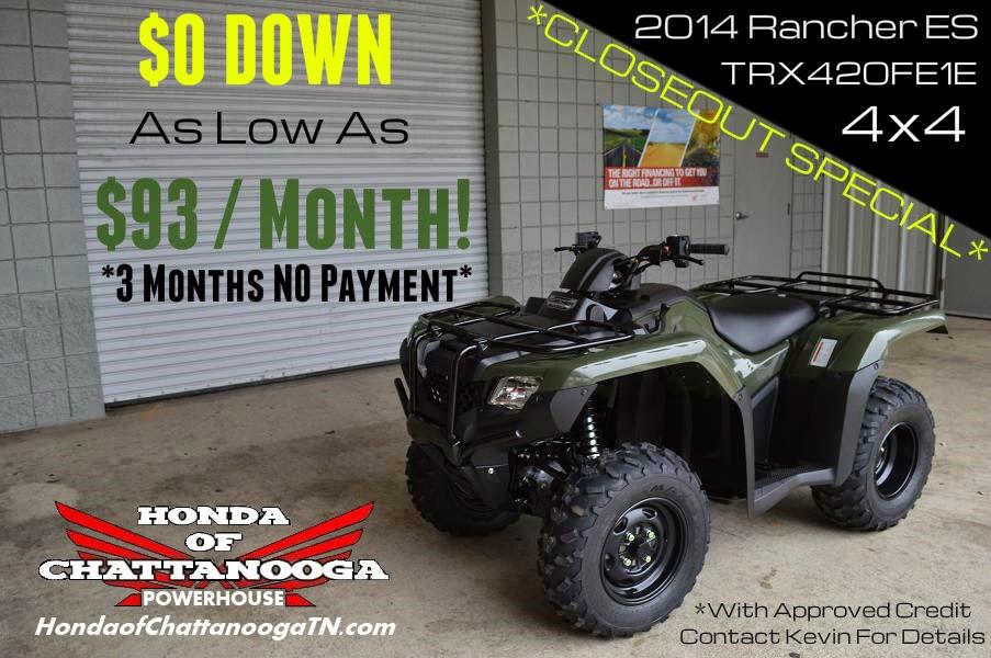 2014 Rancher 420 For Sale  Closeout Specials  TN GA AL area