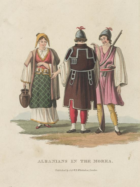 Albanians in the Morea(Greece)