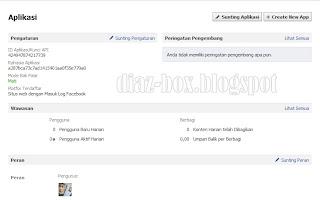 Cara Membuat ID Aplikasi Facebook Untuk Blog