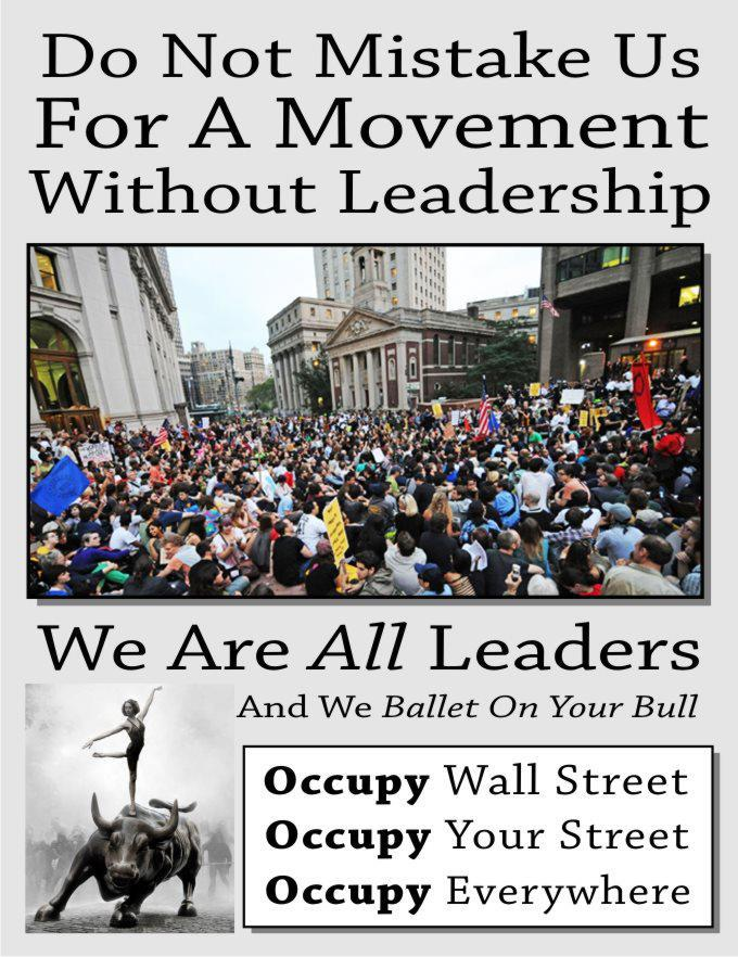 Occupy and individual empowerment
