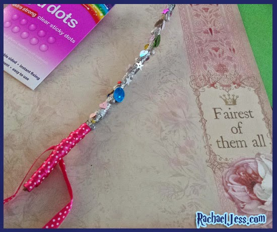 Glitter Glue wand with a sprinkle of confetti