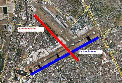 new runway ninoy aquino airport
