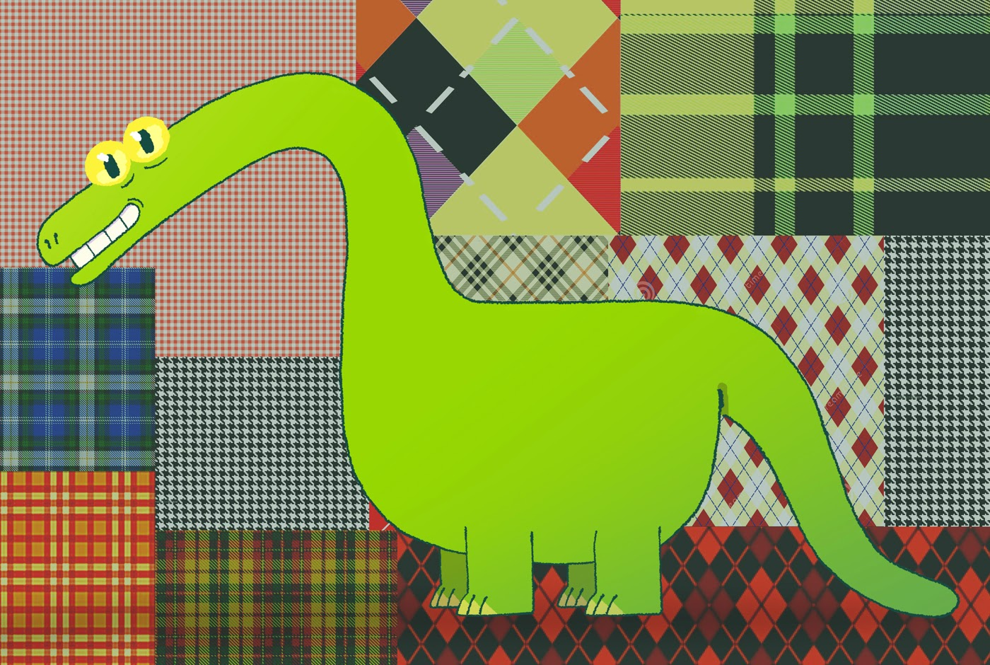 brontosaure © Juin 2014