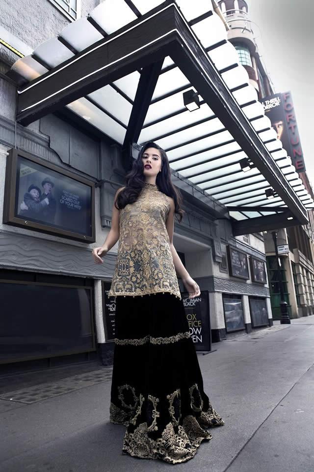 Saira Rizwan Winter Fall 2015 Formal Collection