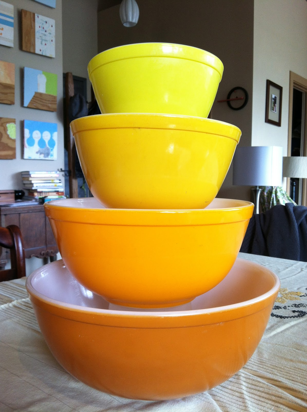 More Pyrex Please!: Sunflowers