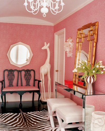 Confetti and Stripes: romantic rooms: get the look