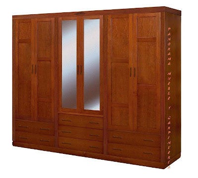 Panorama muebles y carpinteria closet modernos for Closets y muebles