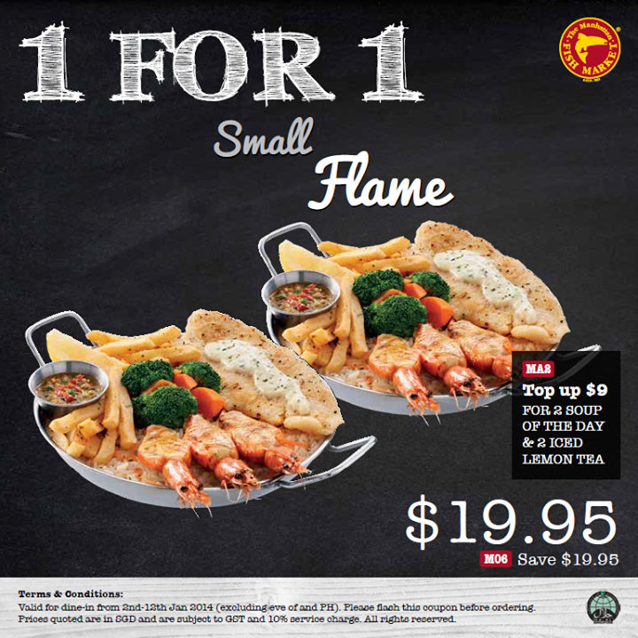 Foodiefc manhattan fish market 1 for 1 small flame till for Oak city fish and chips menu