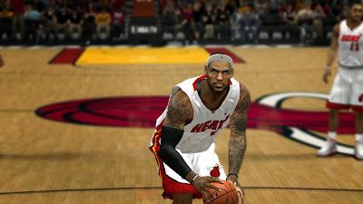 NBA2K14 LeBron James Cyberface Patch
