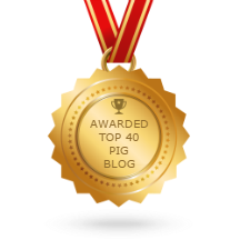 Awared Top 40 Pig Blog
