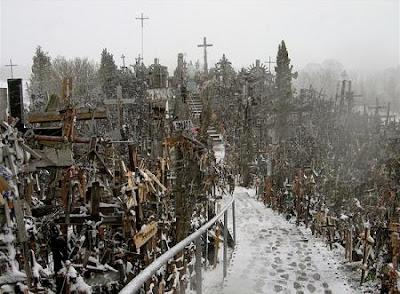 Colina das Cruzes na Lituânia