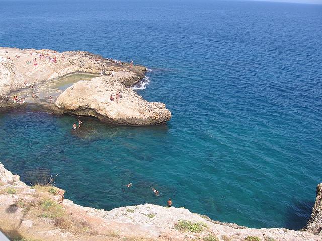 Polignano a Mare Italian beach