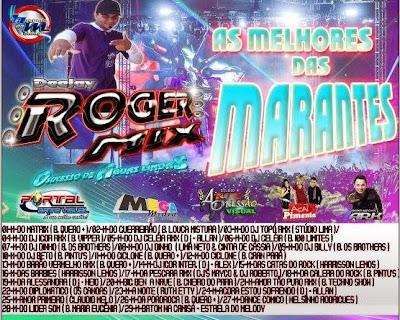CD AS MELHORES DAS MARCANTES - DEEJAY ROGER MIX 30/04/2015