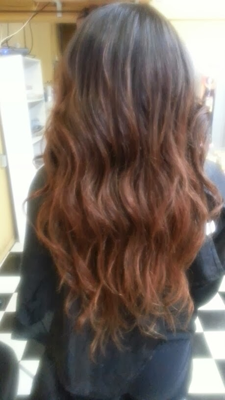 Ombre Hair color sew-in
